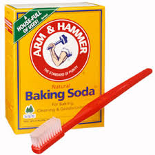 Sodium bicarbonate mouthwash