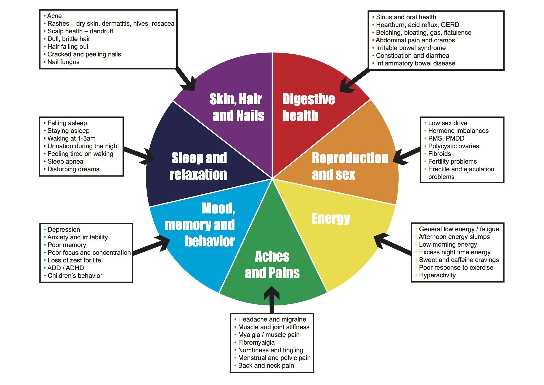 Seven Areas Of Health H Pylori Symptoms